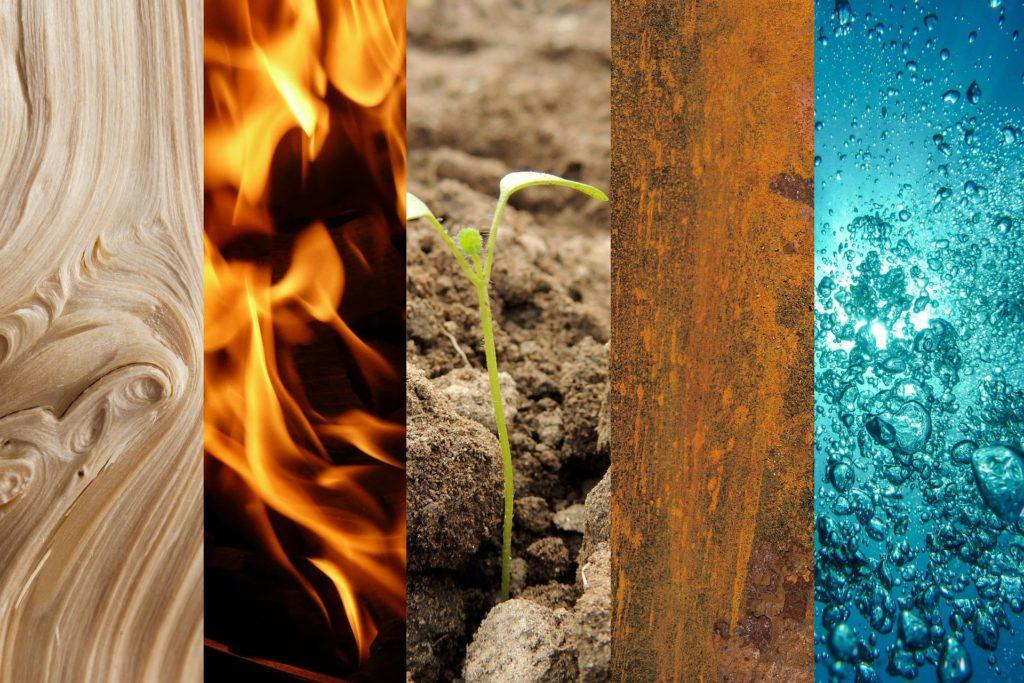 5 elementů vpřírodě